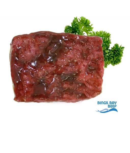 BBQ steak minute steak grass fed cairns