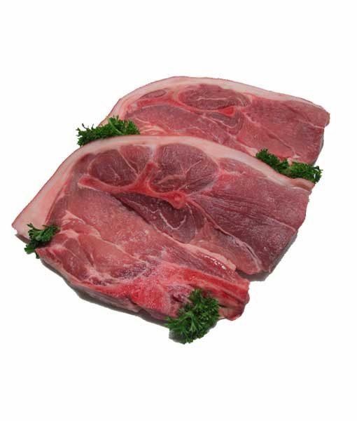 pork chops forequarter bbq pork