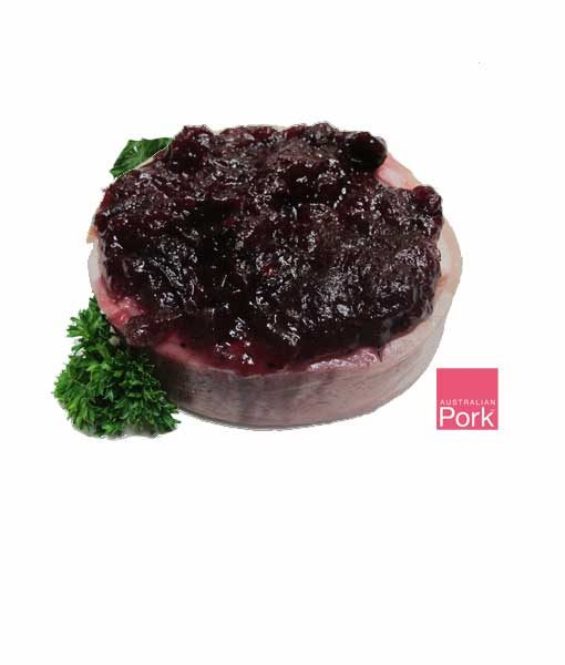 pork mignon cranberry almond gourmet butcher