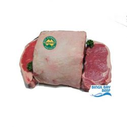 sirloin MSA grass fed beef whole