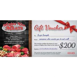 Gift Voucher Mighty Nice Meats