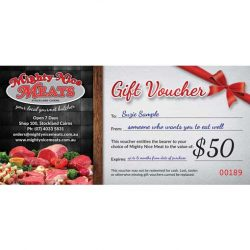 Butcher Meat Voucher